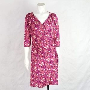 Expected By Lilac Clothing Large Faux Wrap Dress